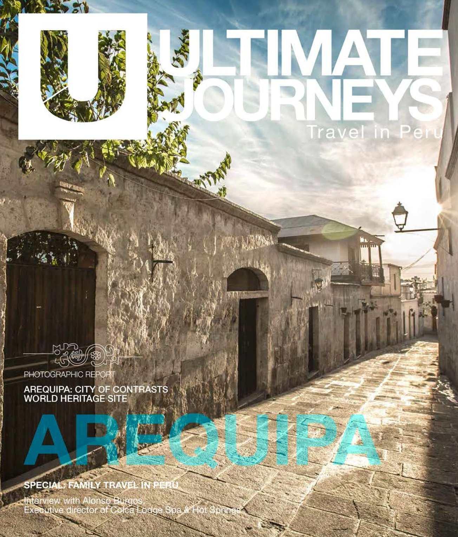 UJ#8 AREQUIPA / FAMILY TRAVEL IN PERU