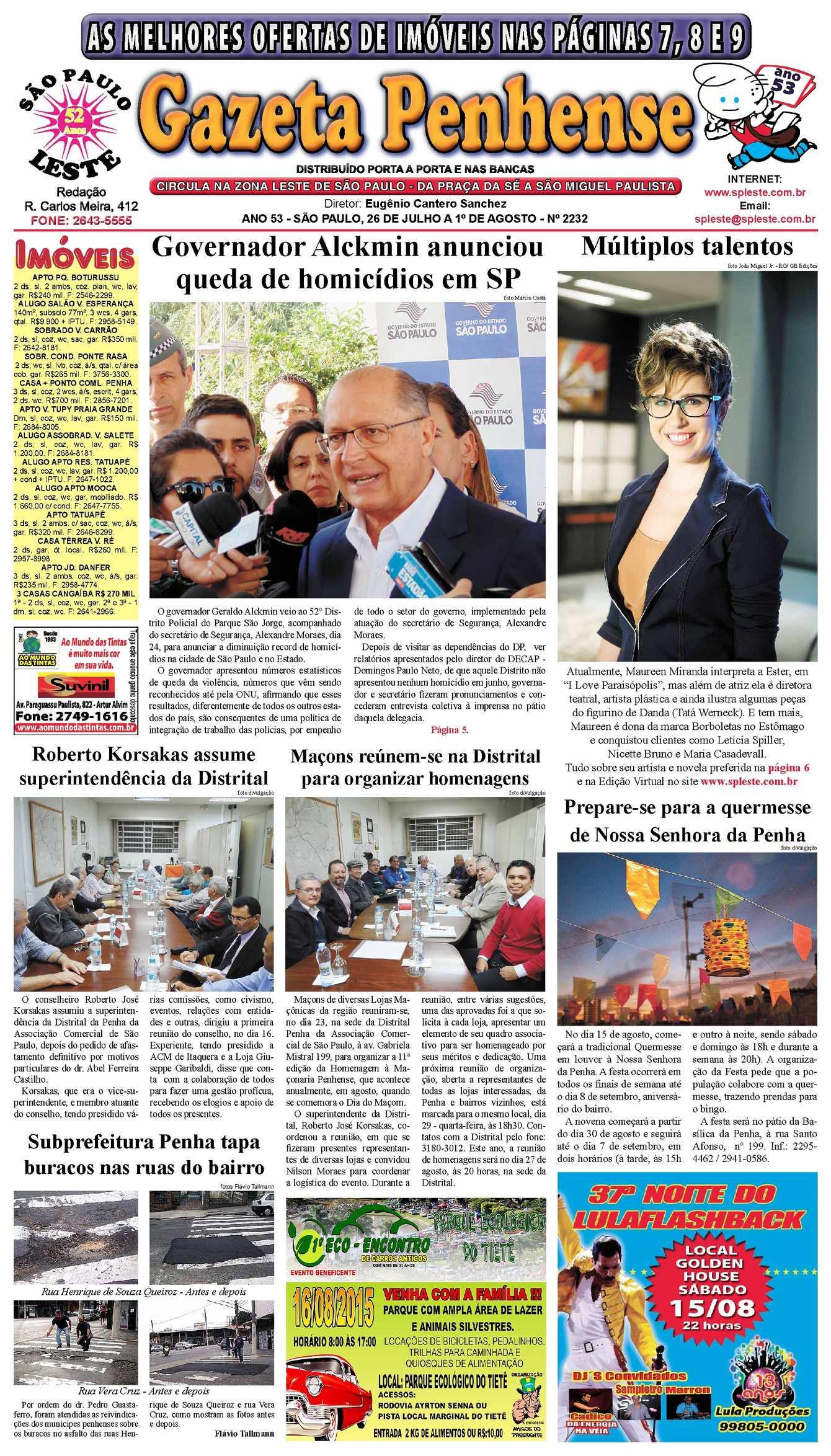 601b472e7c Calaméo - Gazeta Penhense - edição 2232 - 26 07 a 1 08 15