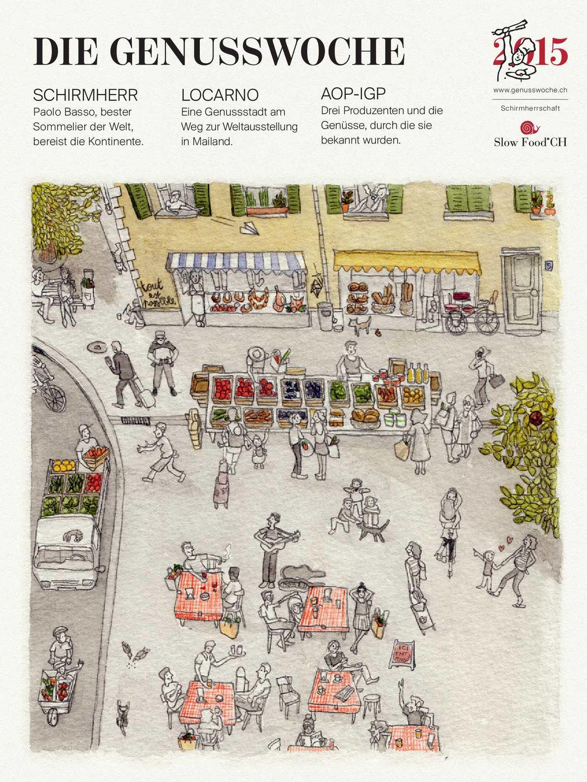 Calaméo Magazin Der Schweizerische Genusswoche 2015