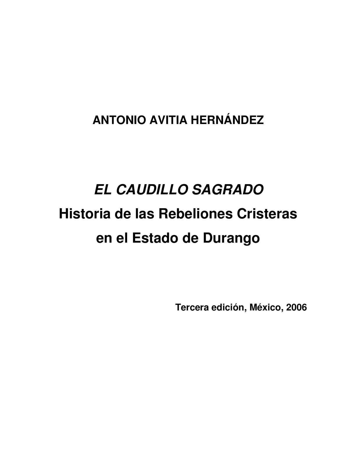 cea3bd3d Calaméo - El Caudillo Sagrado