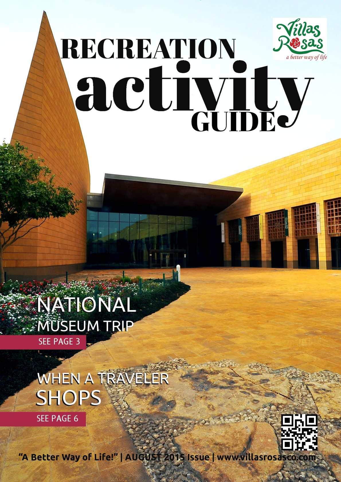 Calaméo - Recreation Activity Guide Aug 2015