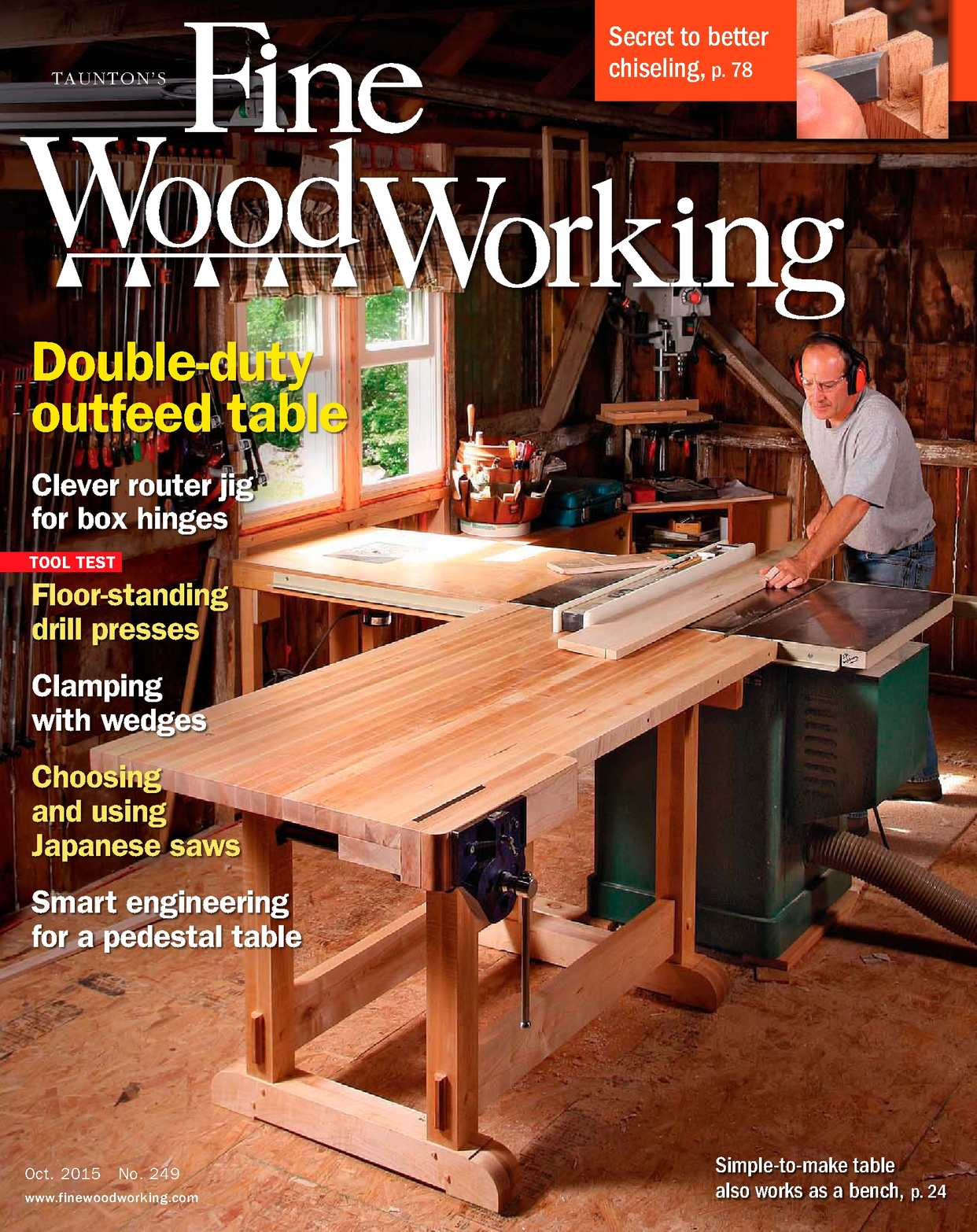 calaméo - fine woodworking #249 preview issue