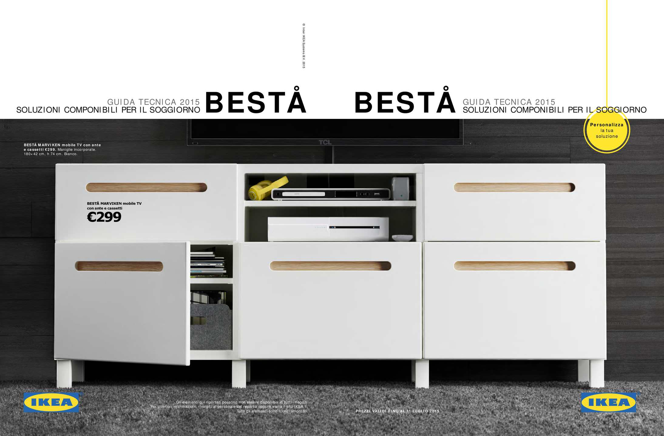 Cassetti Componibili Ikea.Calameo Ikea Guida Besta 2015