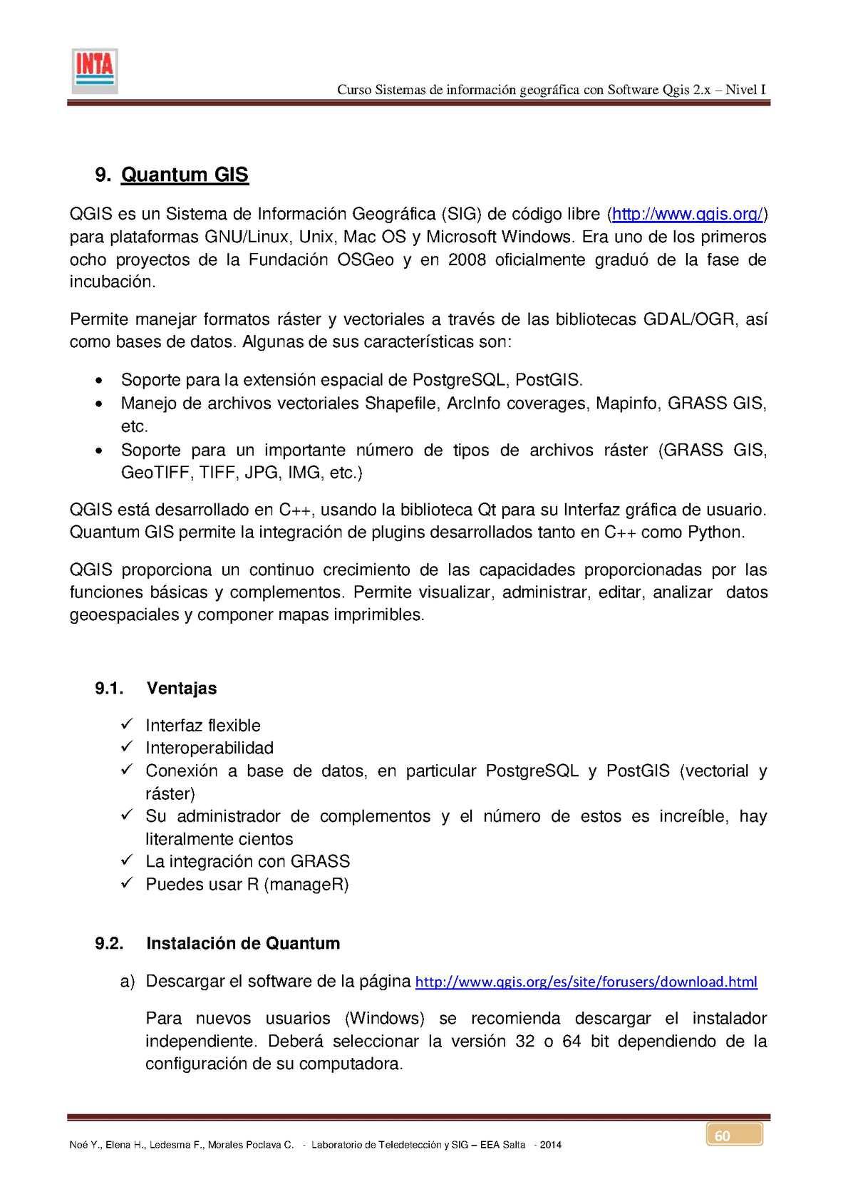 Inta Qgis2 X - CALAMEO Downloader