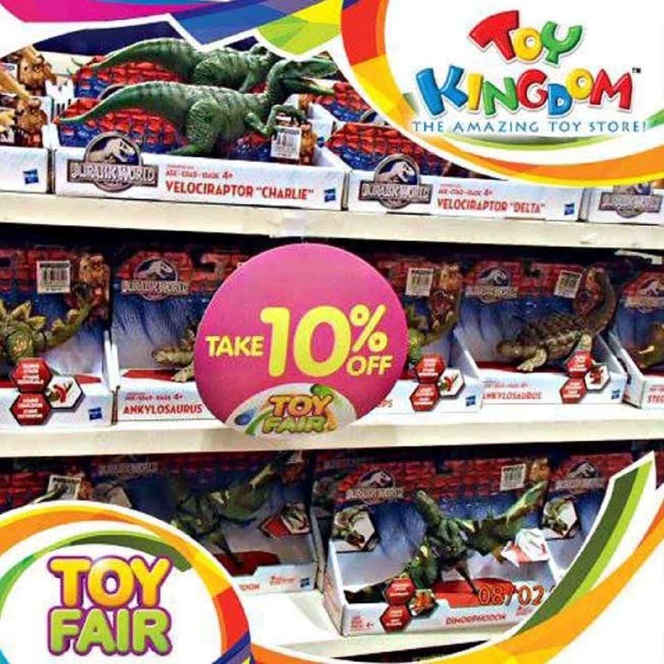 Calameo Enjoy 10 Off On Dinosaur Toys At Toy Kingdom Offer Valid From August 1 31 2015 70801