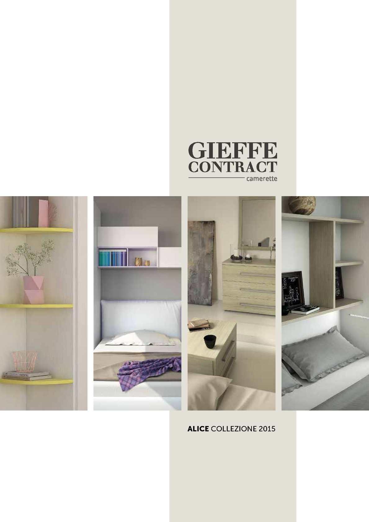 Gieffe Contract Camerette.Calameo Catalogo Gieffe 2015 Collezione Alice