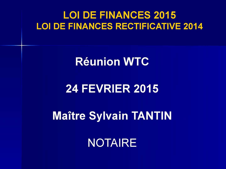 Calameo Ldf I 7 3 Loi De Finances 2015