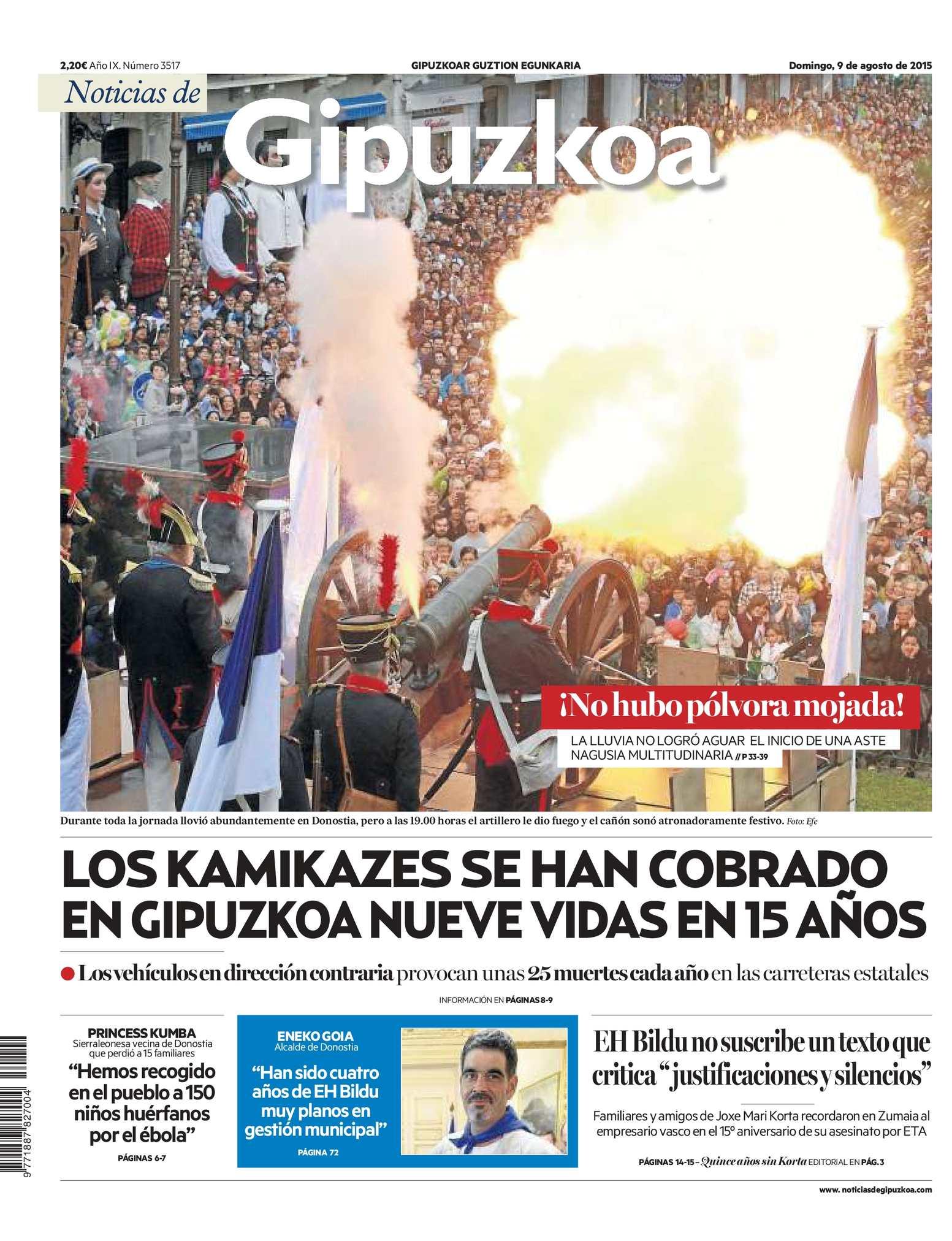 b965a9945 Calaméo - Noticias de Gipuzkoa 20150809