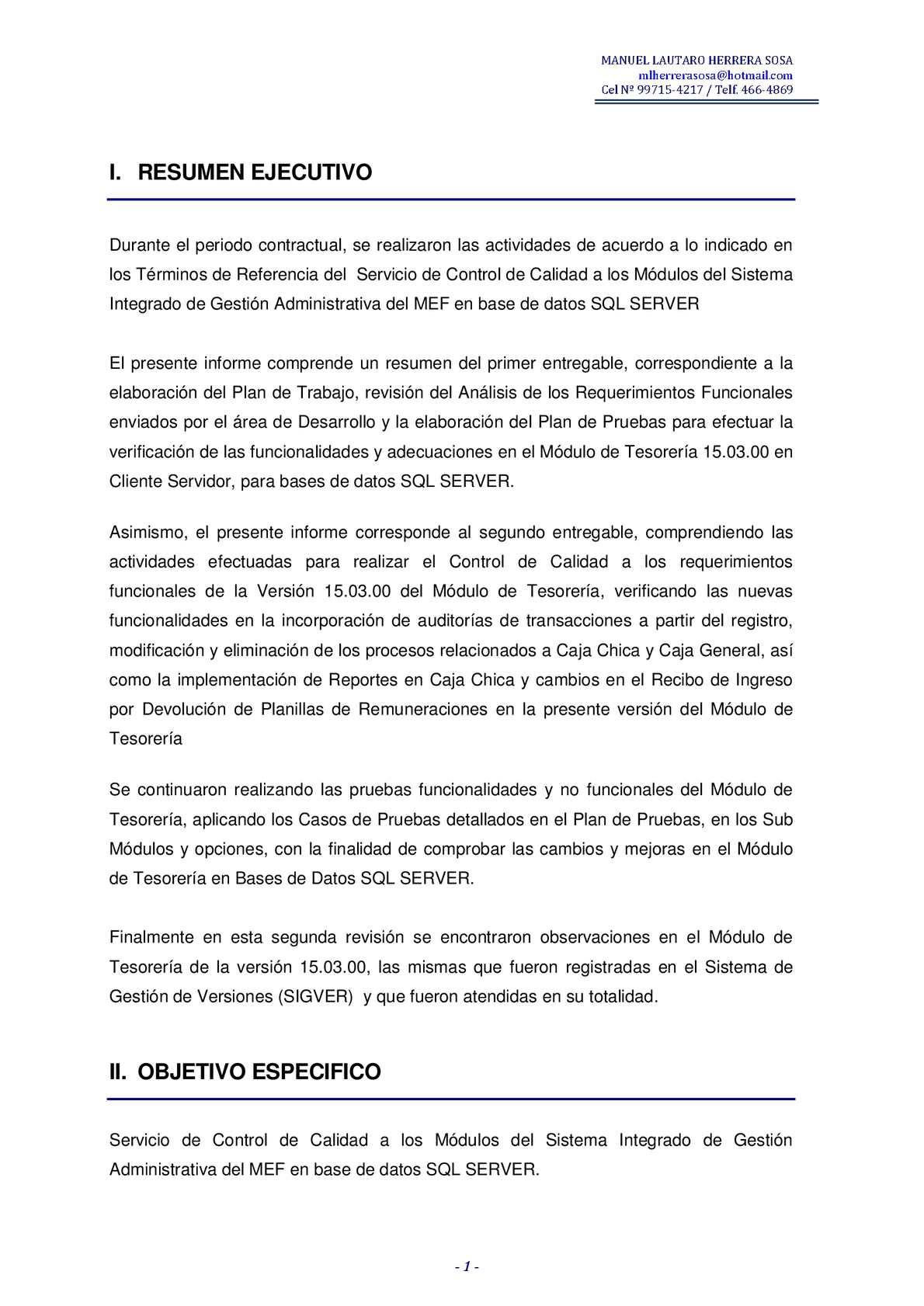 Calaméo Informe Prueba Manuel Herrera