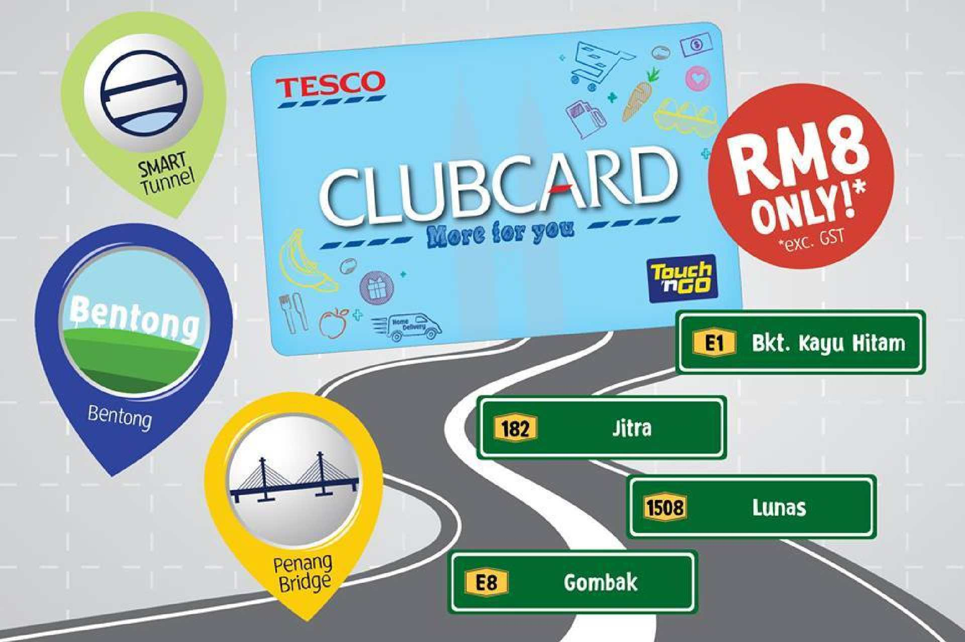 Calameo Get Our Tesco Clubcard Touch N Go For Rm8 At Tesco Valid All Year Round71196 71196