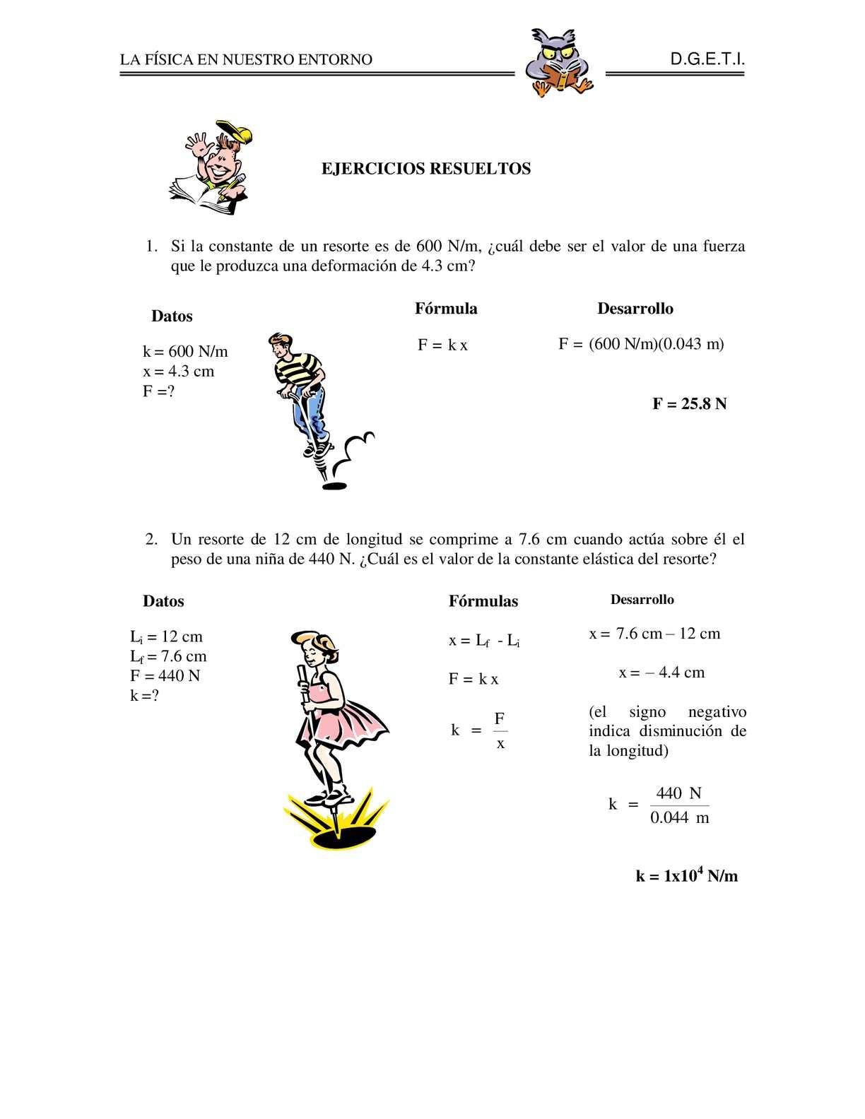 Calaméo 1 2 Problemas Elasticidad