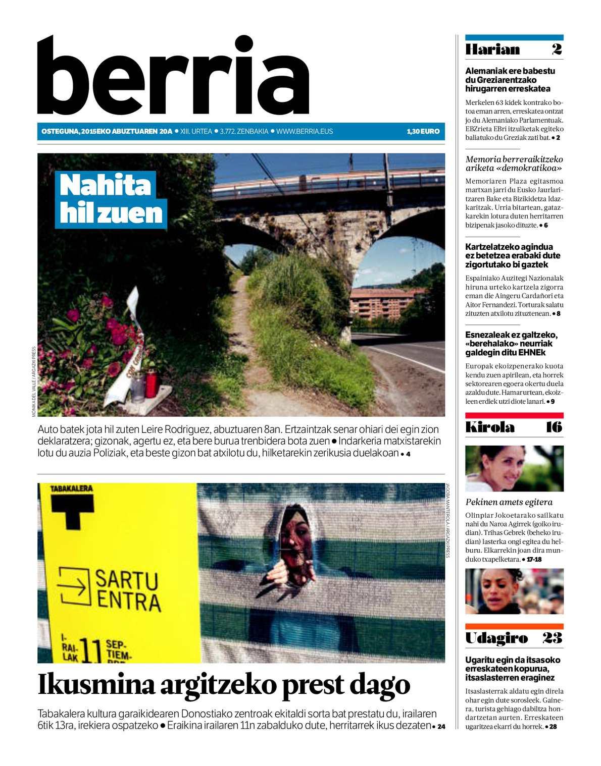 Calaméo - BERRIA 20150820 875e918bc2ddf