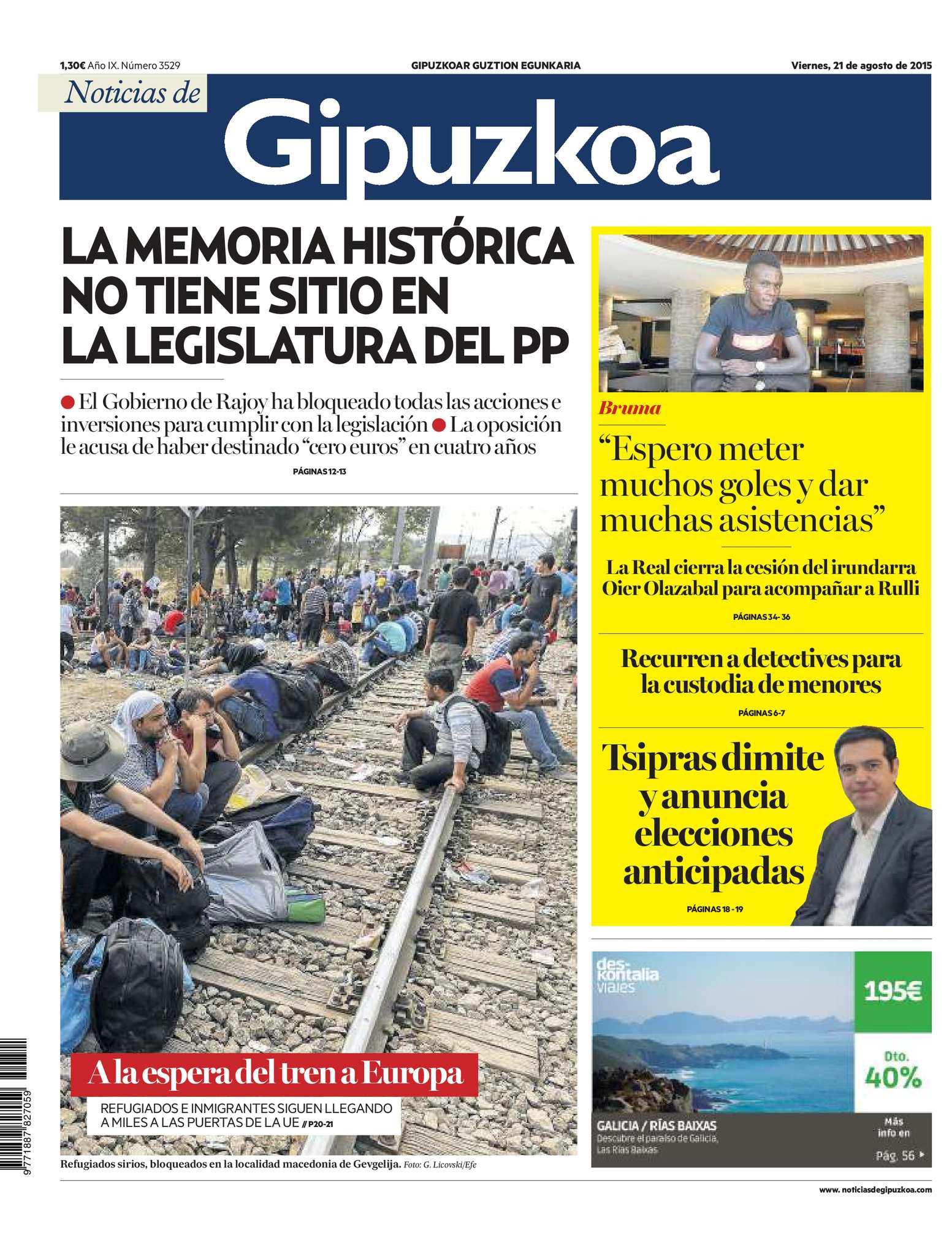 Gipuzkoa 20150821 De Noticias Calaméo dBexrCo