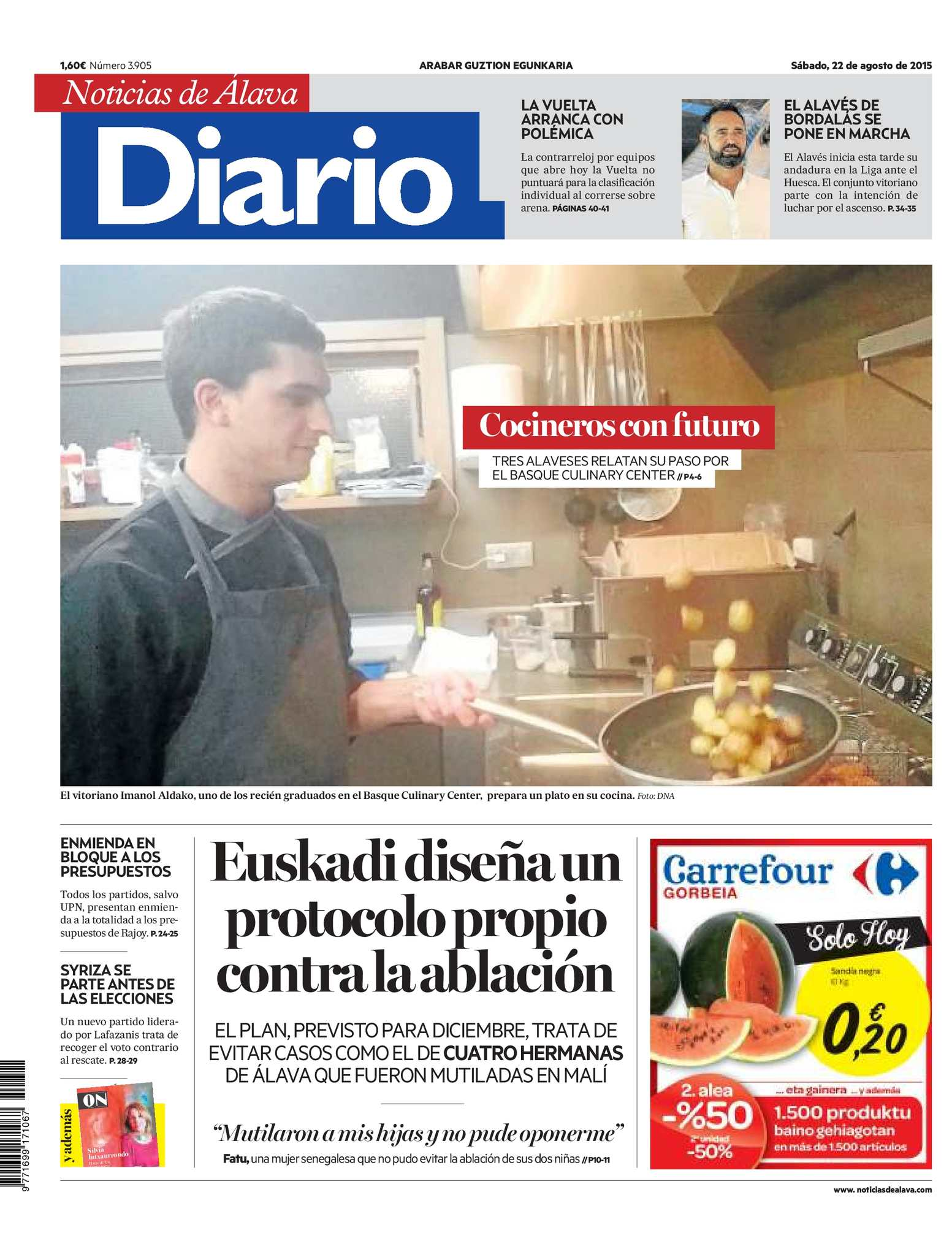 e9d3cdf57 Calaméo - Diario de Noticias de Álava 20150822