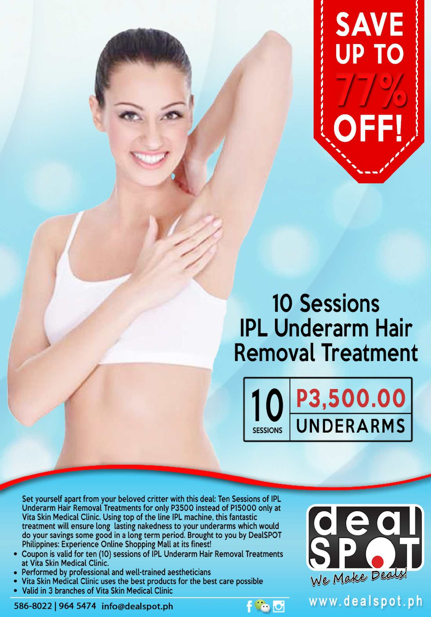 Calaméo - Save 77 Off On 10 Sessions Ipl Underarm Hair