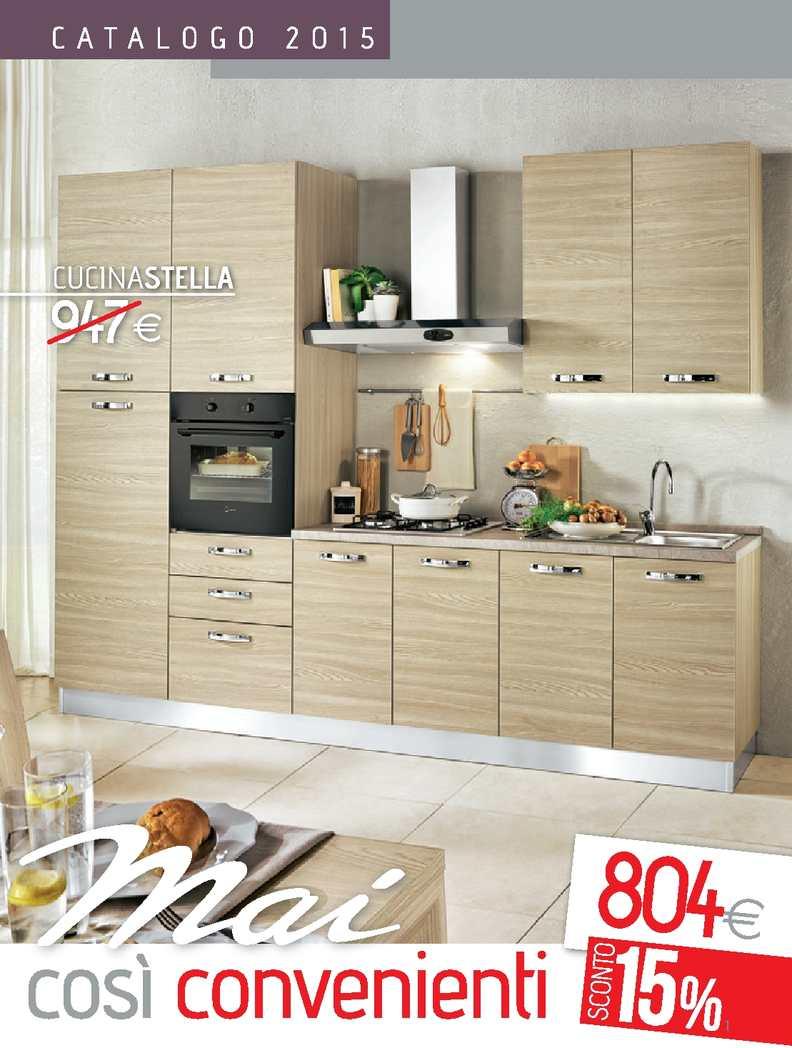 Mondo Convenienza Cucina Stella 330.Calameo Catalogo Cucine Mondo Convenienza 2015