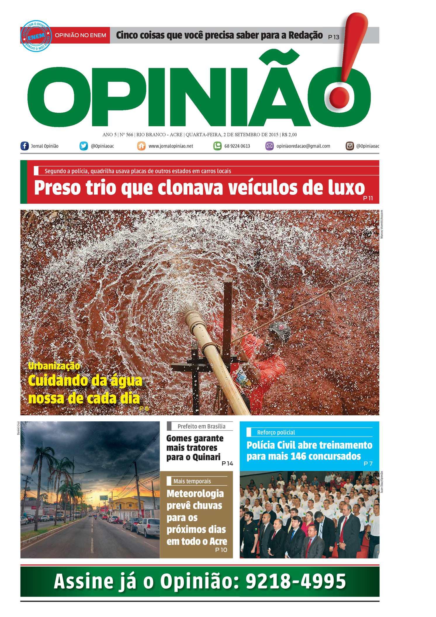 Calaméo - Jornal Opinião - Edição 566 86fc3e13ab