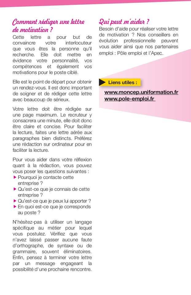 Guide De L évolution Professionnelle Pour Les Salariés