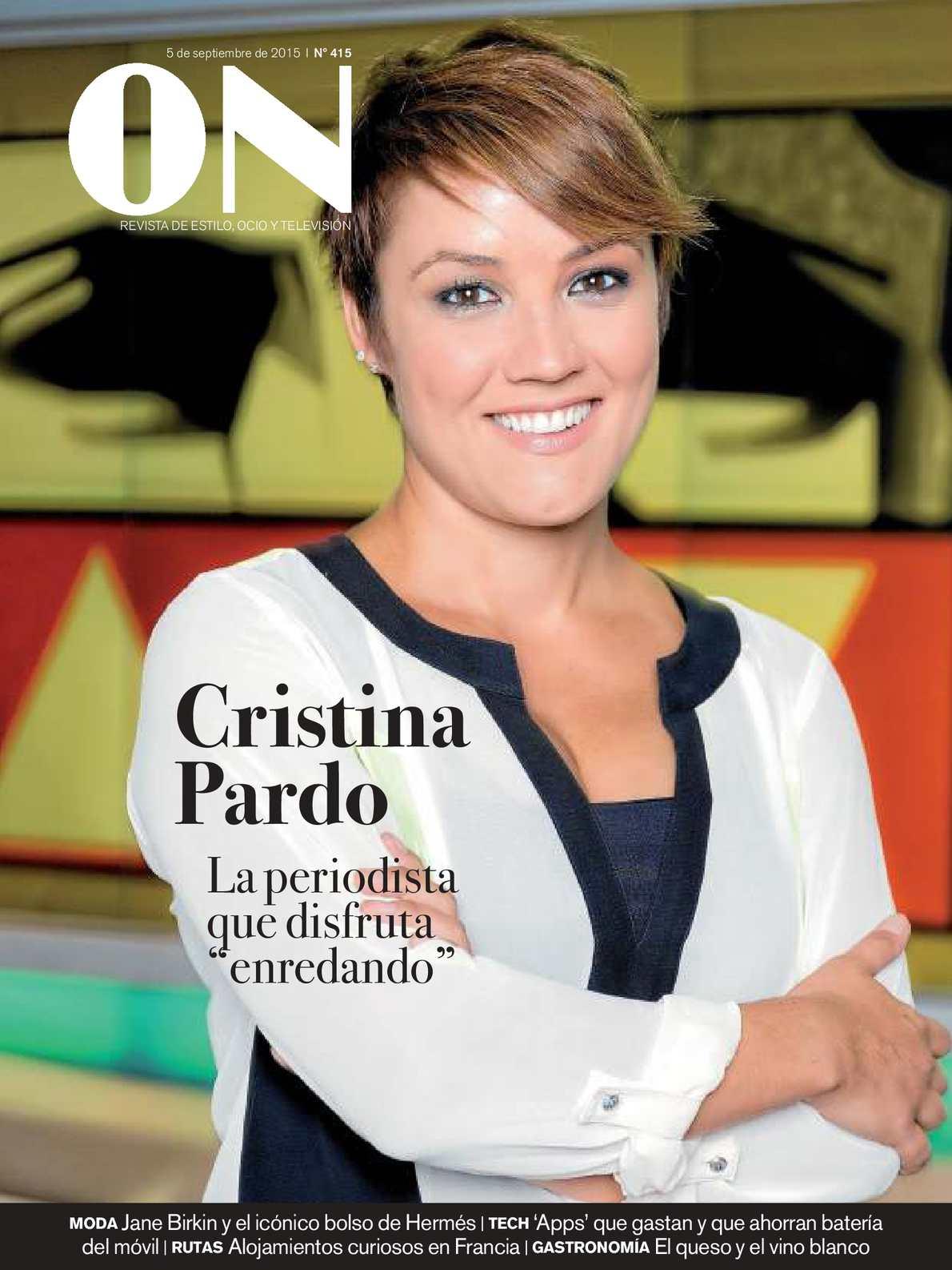 Actriz De Porno Que Se Parezca A Cristina Pardo calaméo - on revista de ocio y estilo 20150905