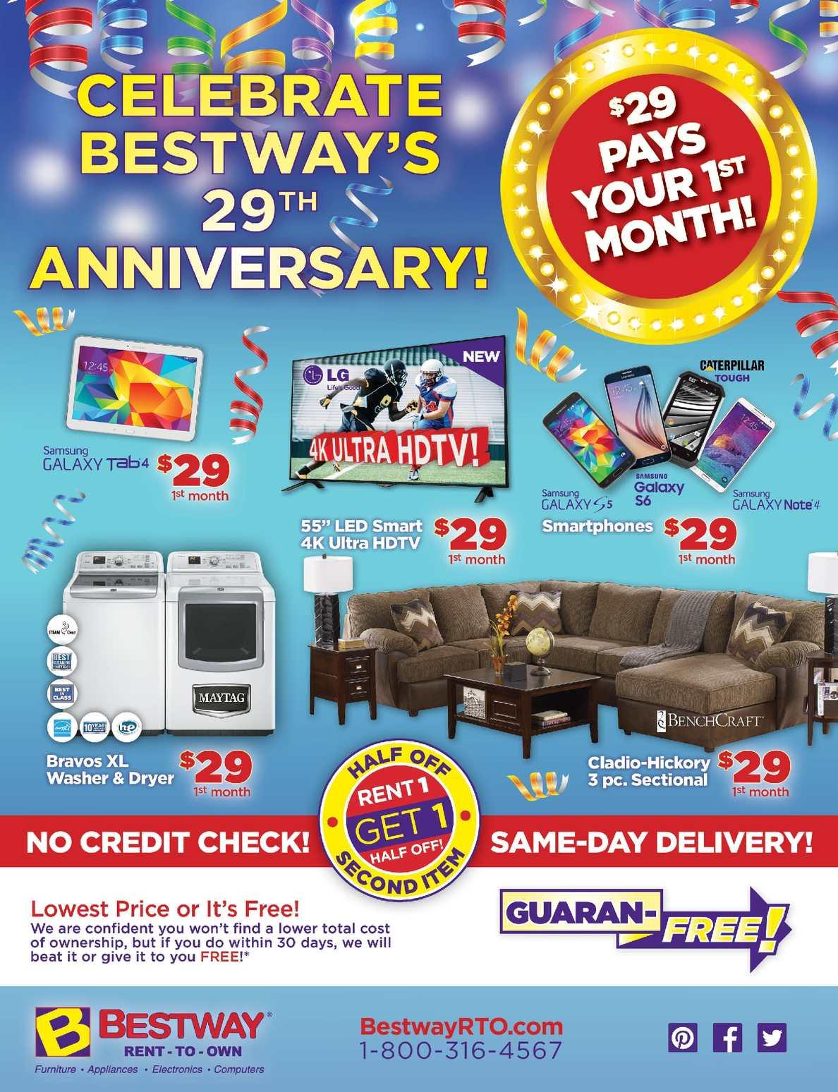 Calaméo - Enjoy rent to own furniture, Appliances, Computer @ 15$