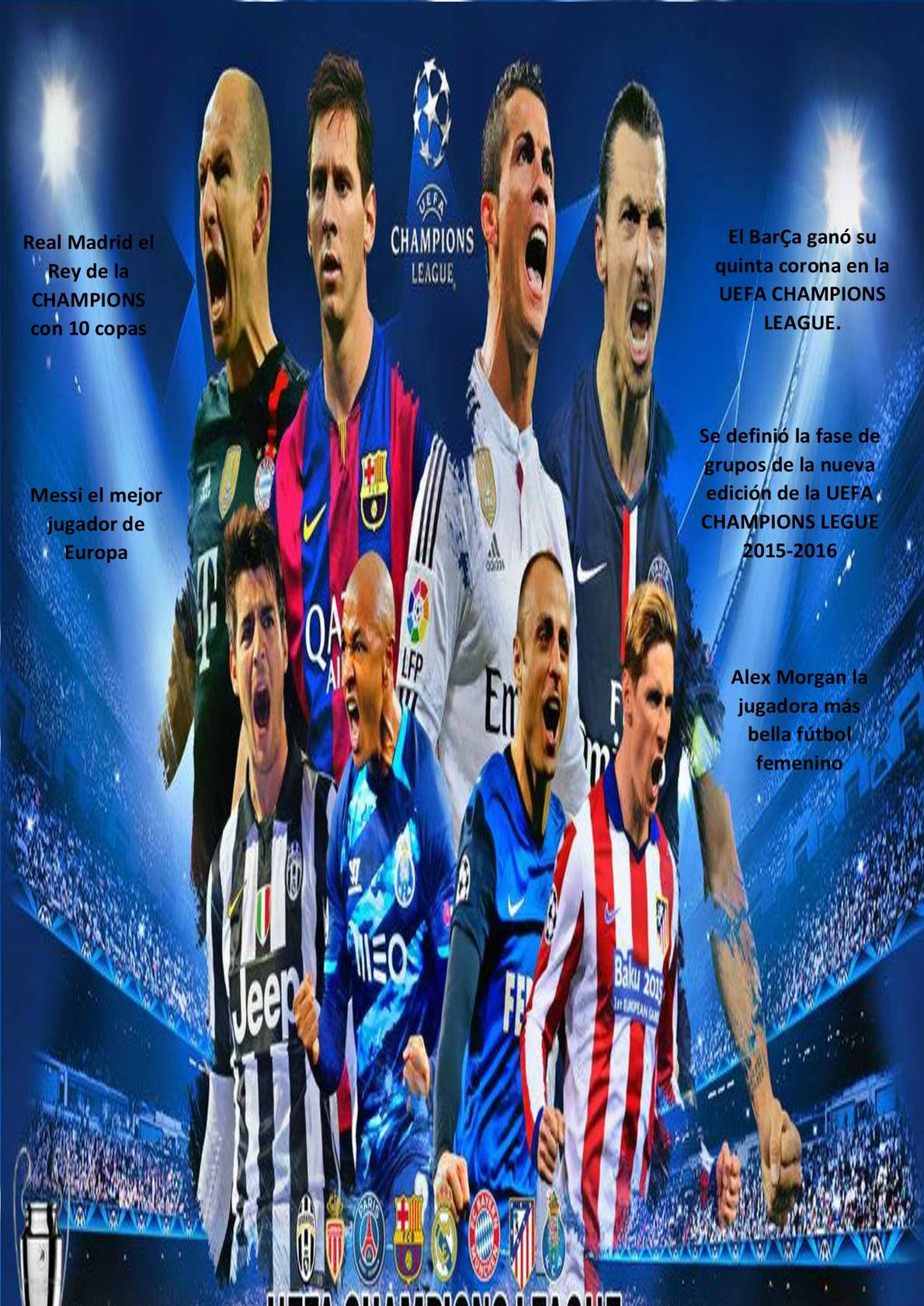 Revista Uefa Champions League