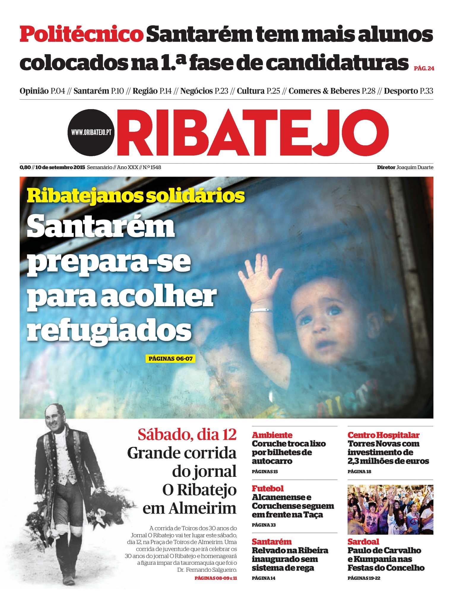 e2892fdb6da0e Calaméo - Edição 1548 do Jornal O Ribatejo - 10 setembro de 2015
