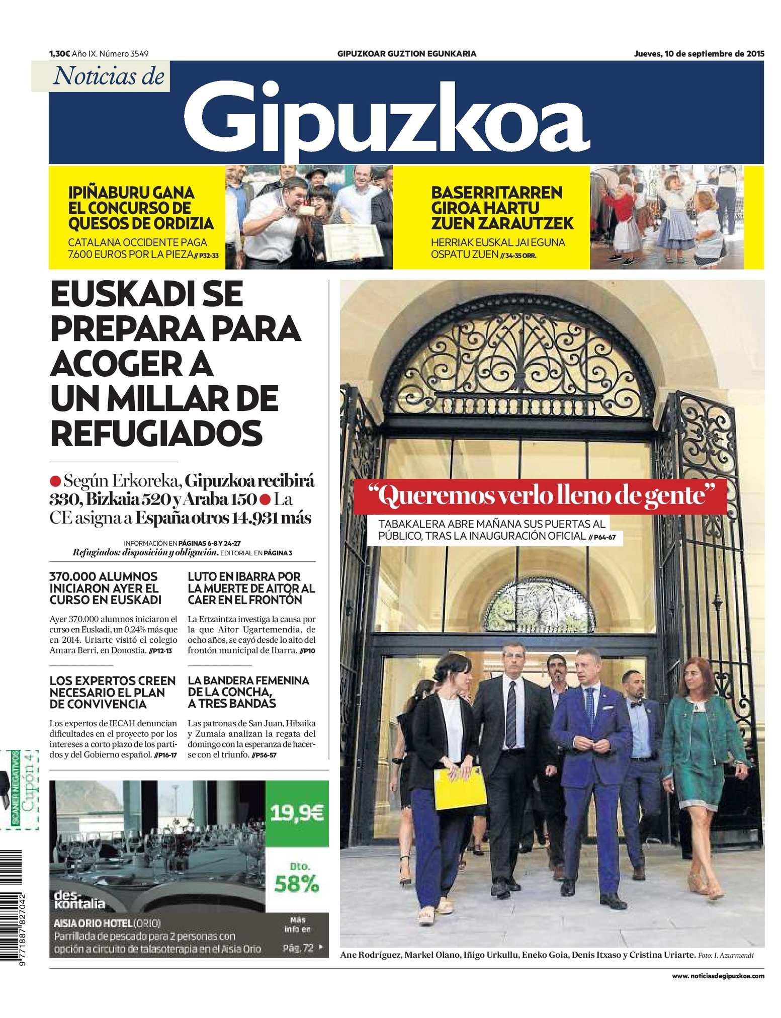 Calameo Noticias De Gipuzkoa 20150910