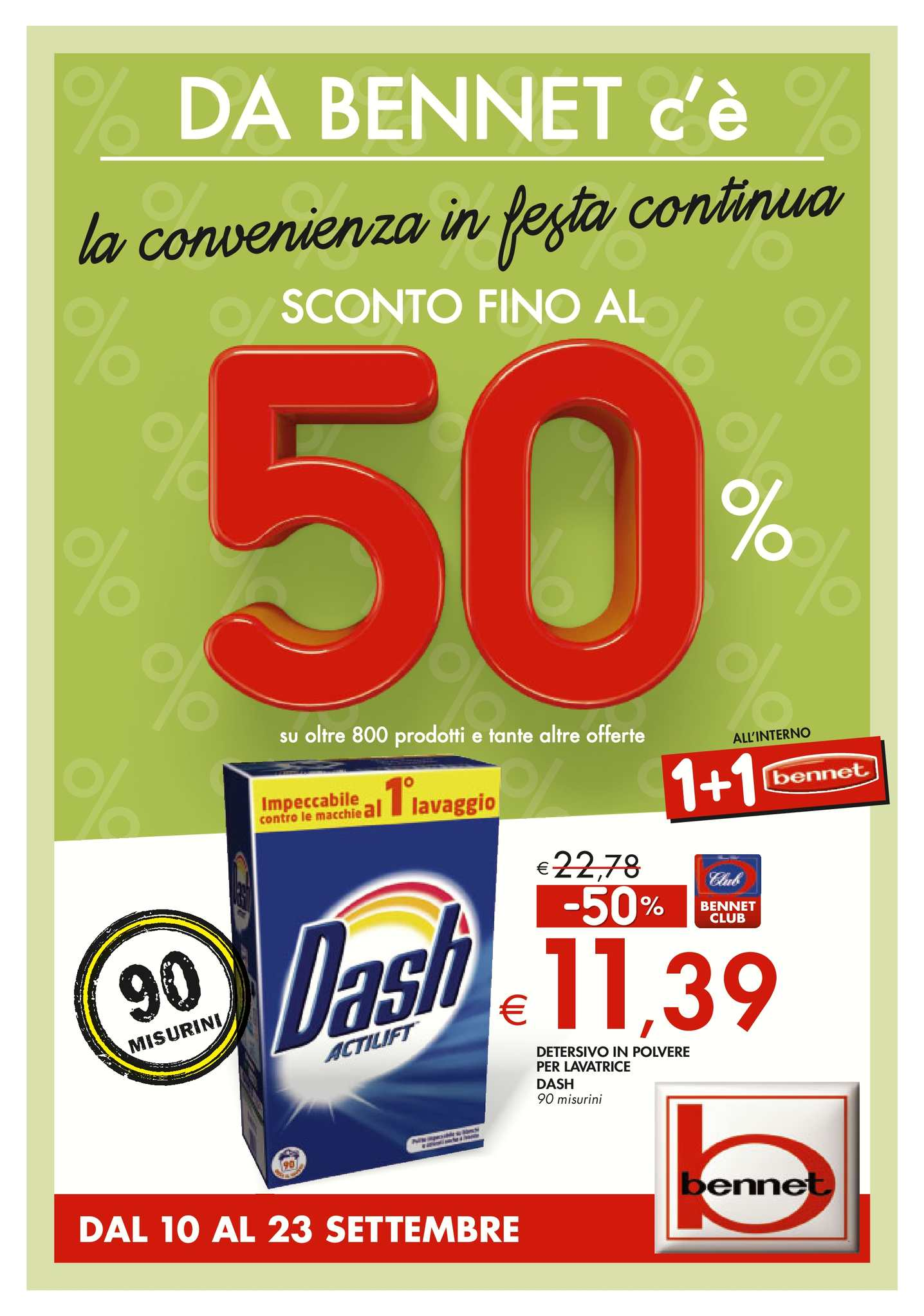 huge discount 447ef a7582 Calaméo - Volantino Bennet Dal 10 Al 23 Settembre