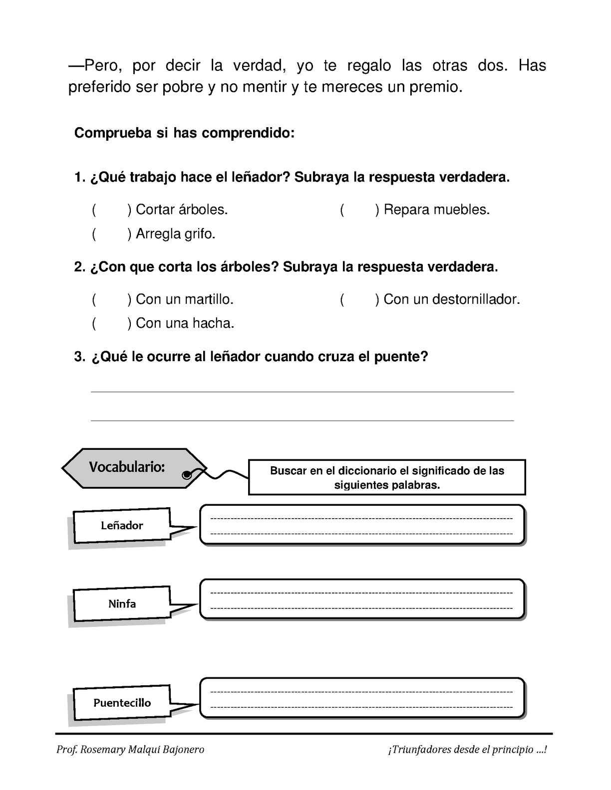 Lectura Comprensiva 18 Calameo Downloader # Le Font Muebles