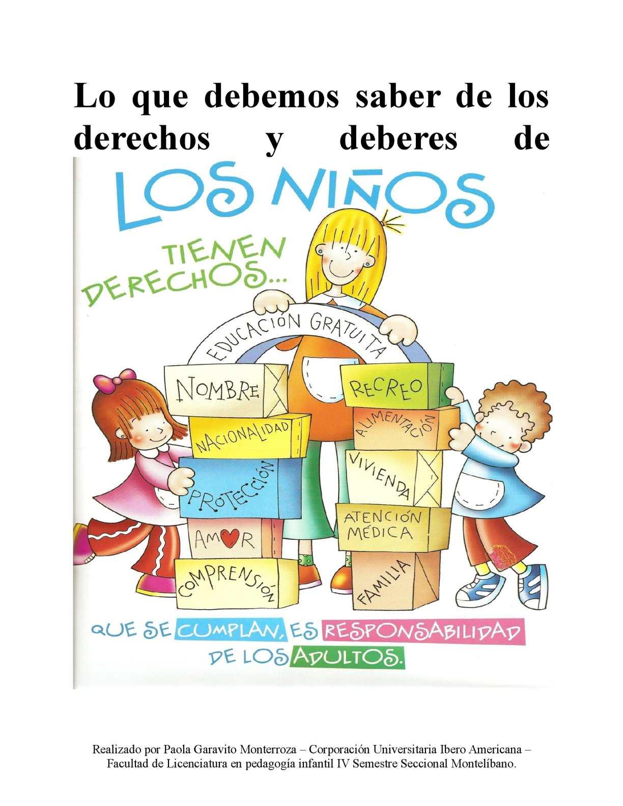 Calaméo - Derechos_Y_Deberes_De_Los_Niños