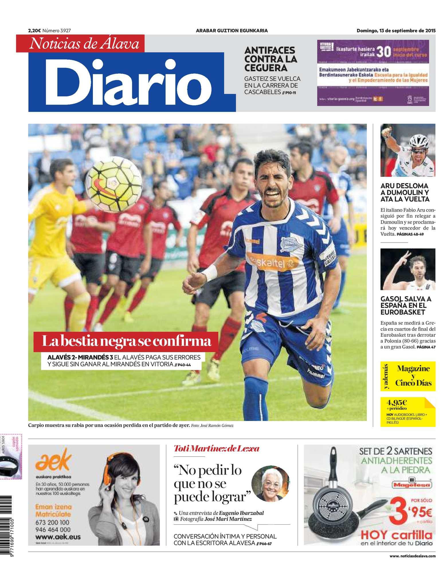 957fb09e5 Calaméo - Diario de Noticias de Álava 20150913