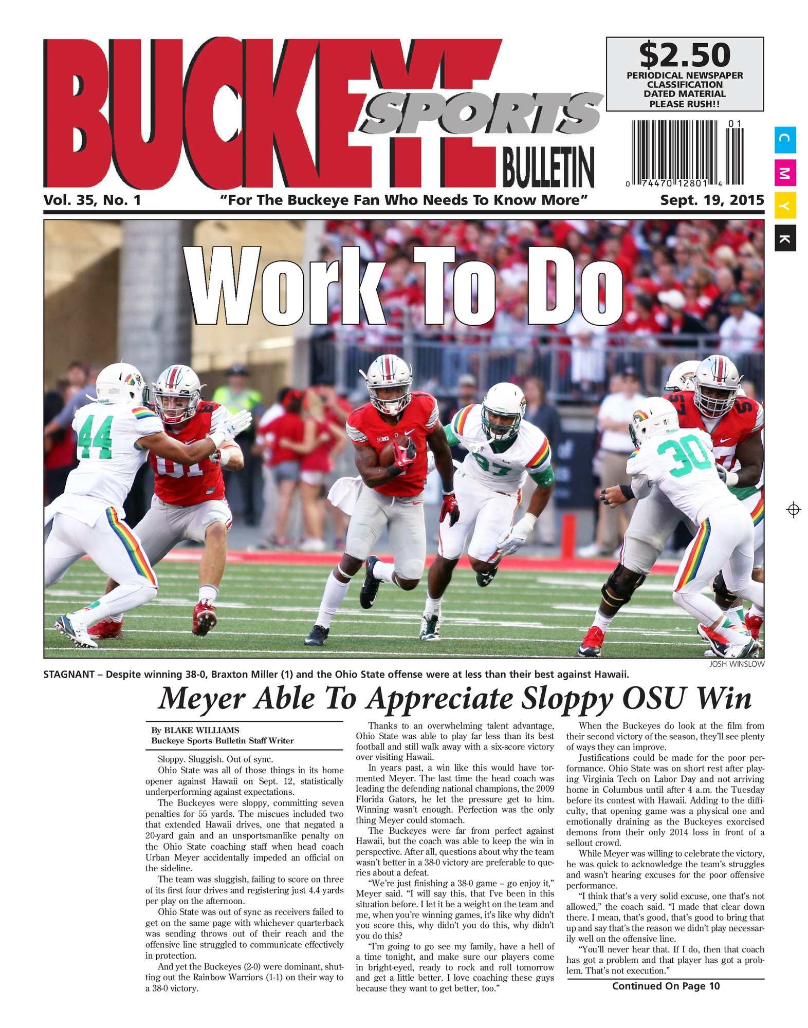 dc5585068 Calaméo - Buckeye Sports Bulletin September 19