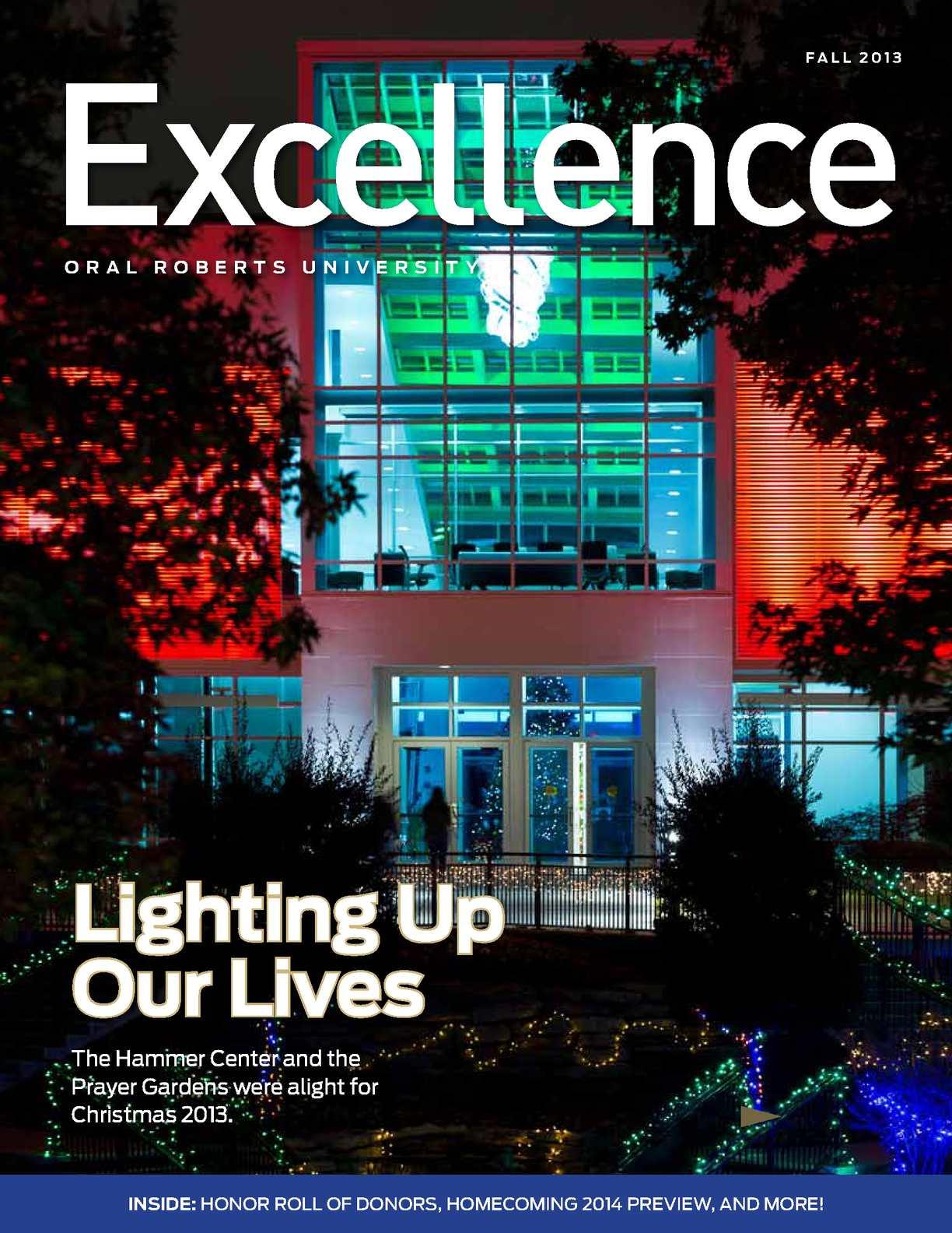 Calaméo Oru Excellence Magazine Vol 25 No 2 Fall 2013