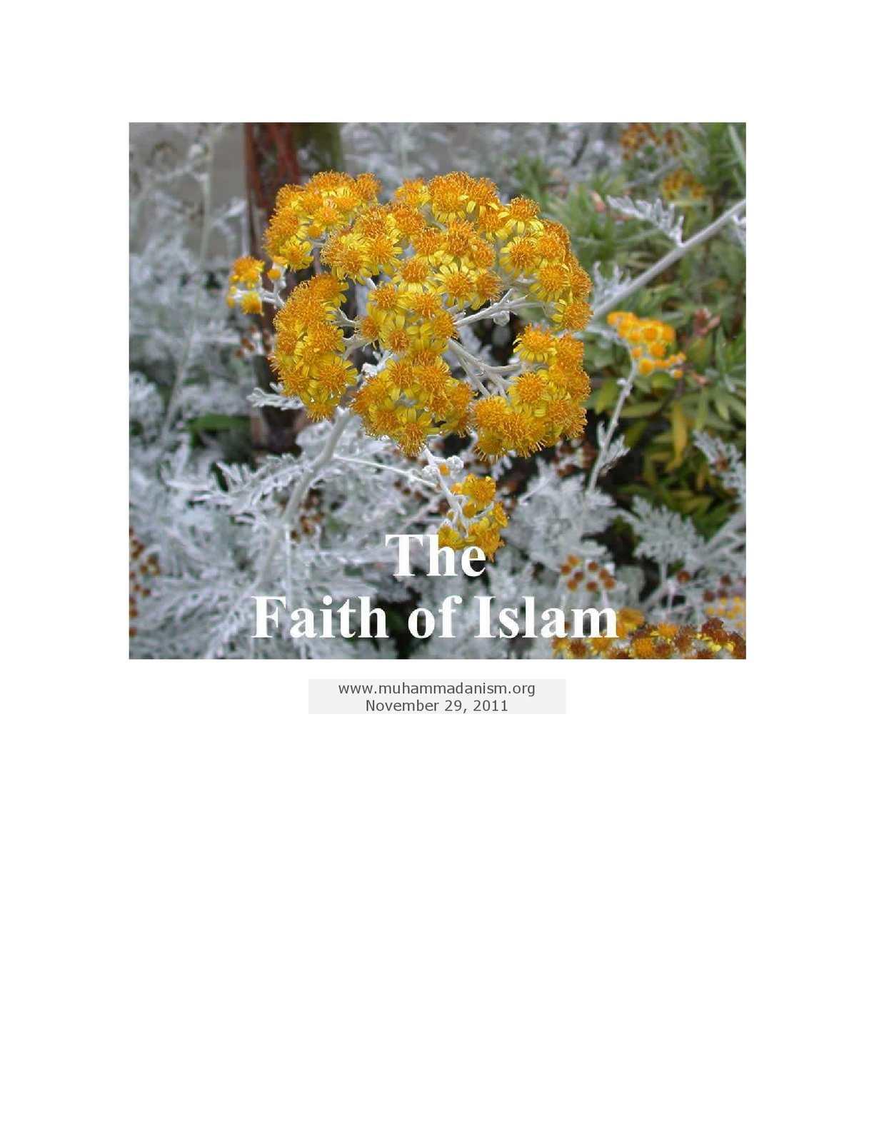 Calaméo - The Faith Of Islam