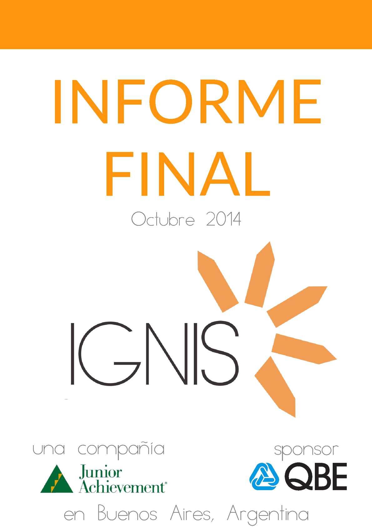 Ejemplo Informe Final