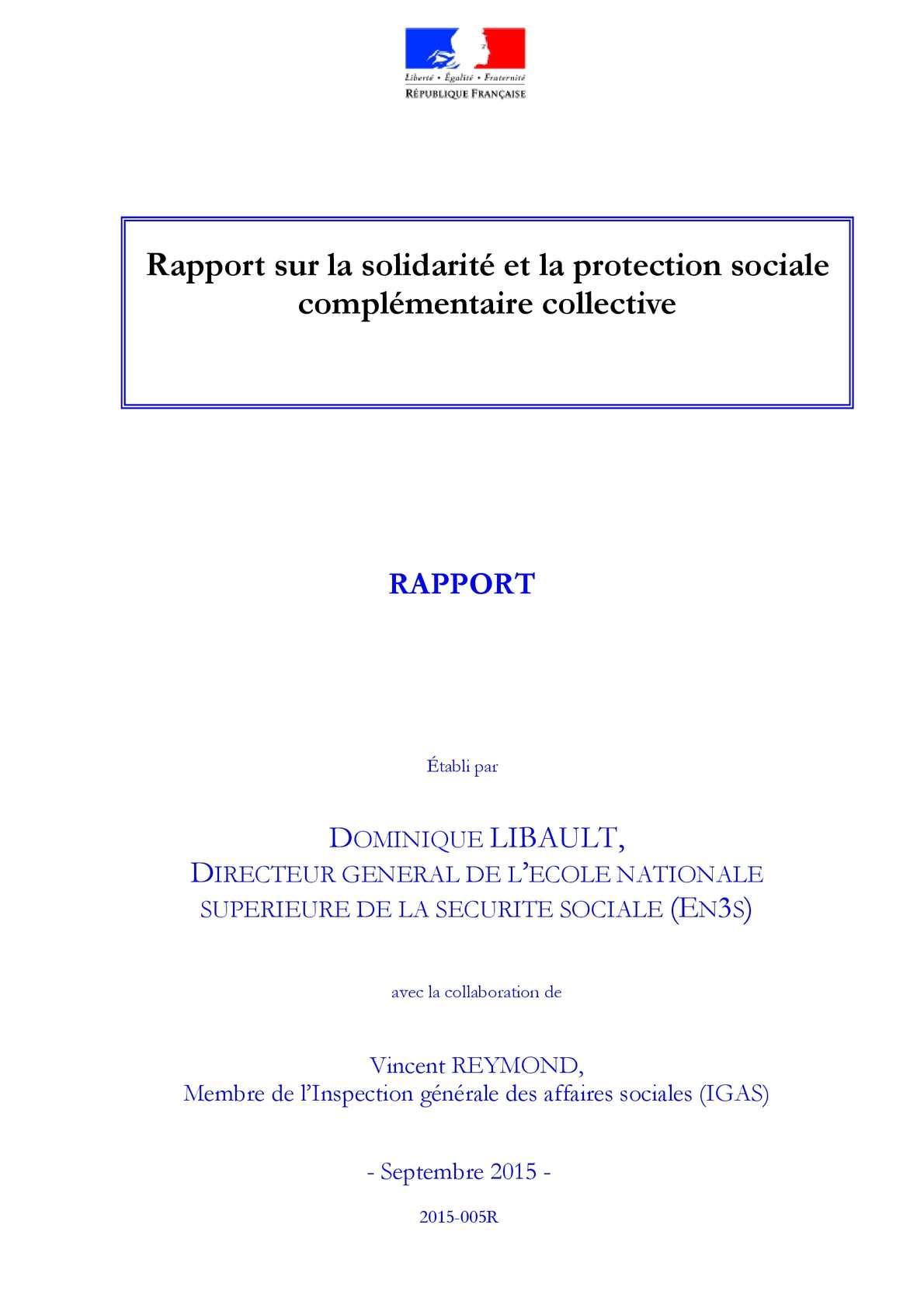 Calaméo - Rapport Sur La Solidarite b30ac453237a