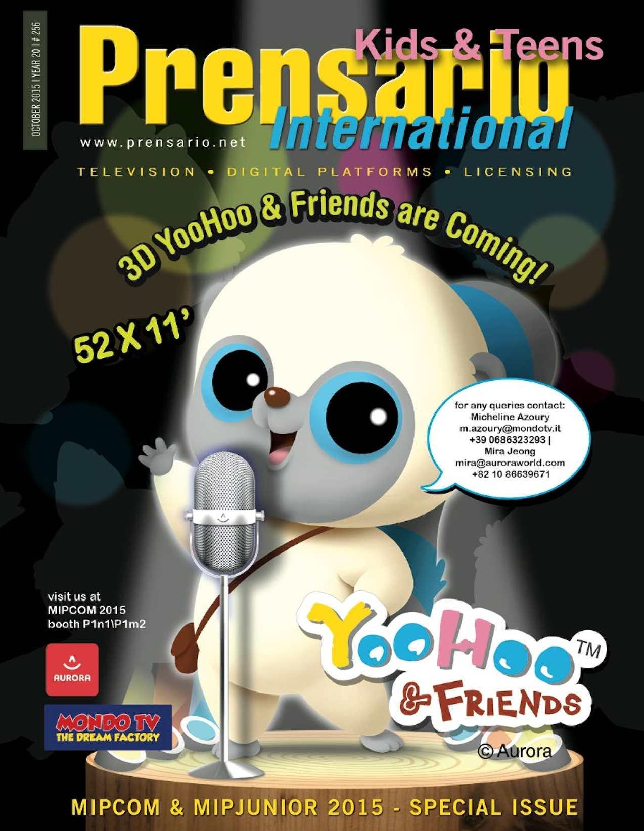 Calameo Prensario Kids Mipcom 2015