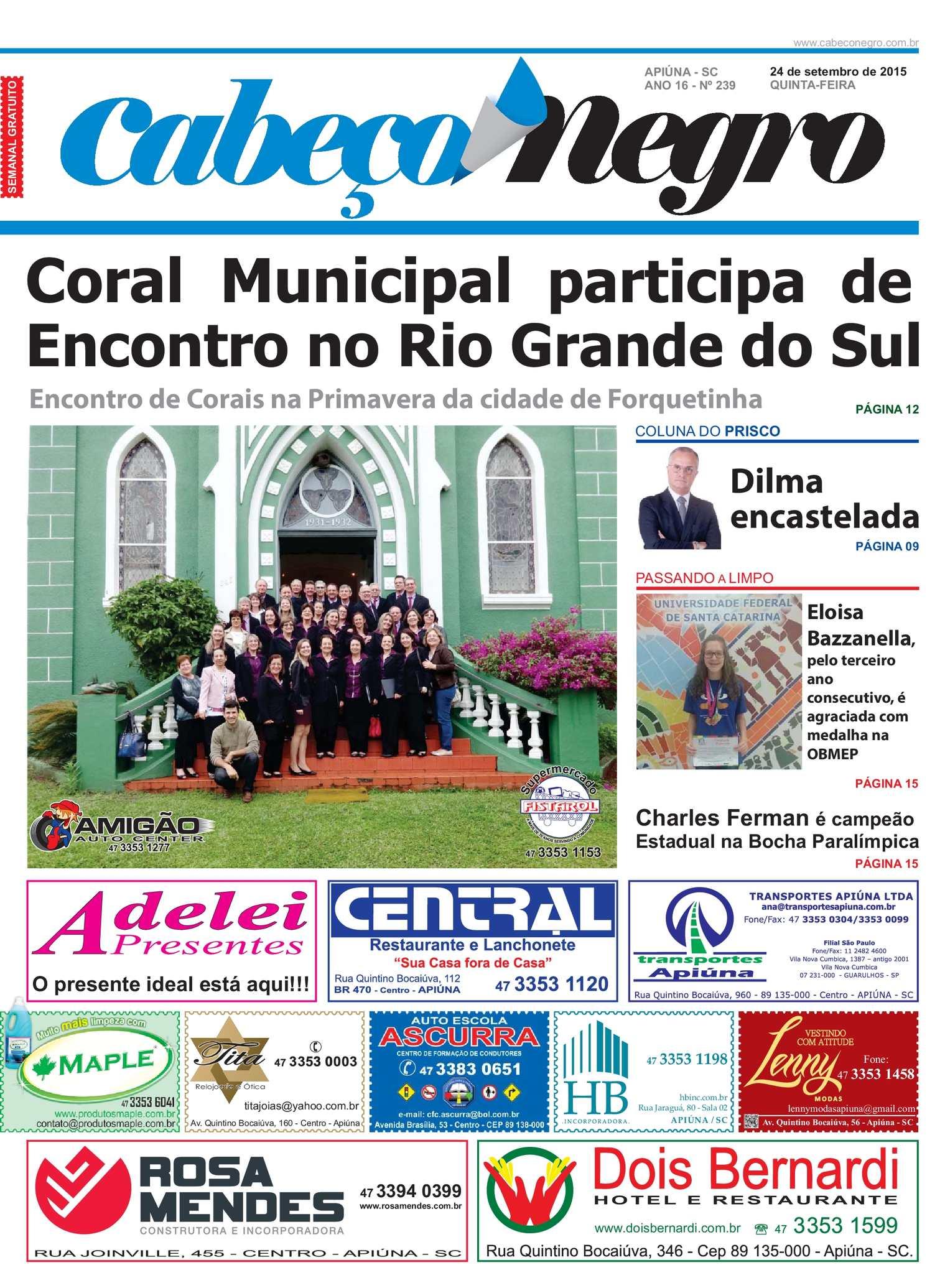 Calaméo - Jornal CABEÇO NEGRO - Edição 239 (24-09-2015) 689af83607