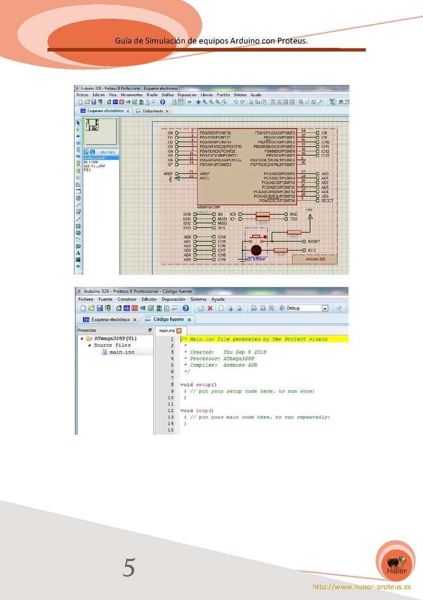 Guia de simulación de equipos Arduino con Proteus - CALAMEO Downloader