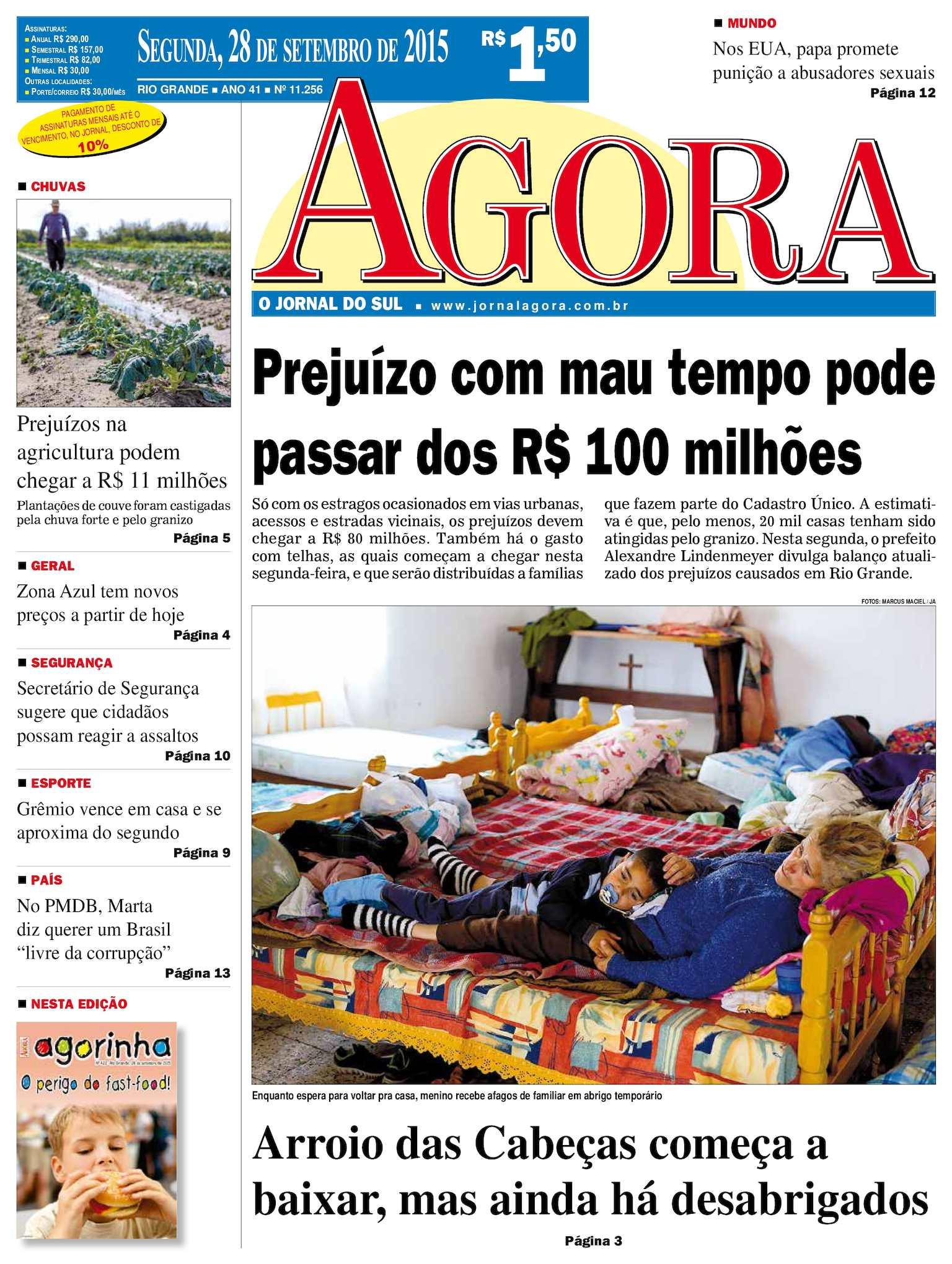 9ca33a034b5b8 Calaméo - Jornal Agora - Edição 11257 - 28 de Setembro de 2015