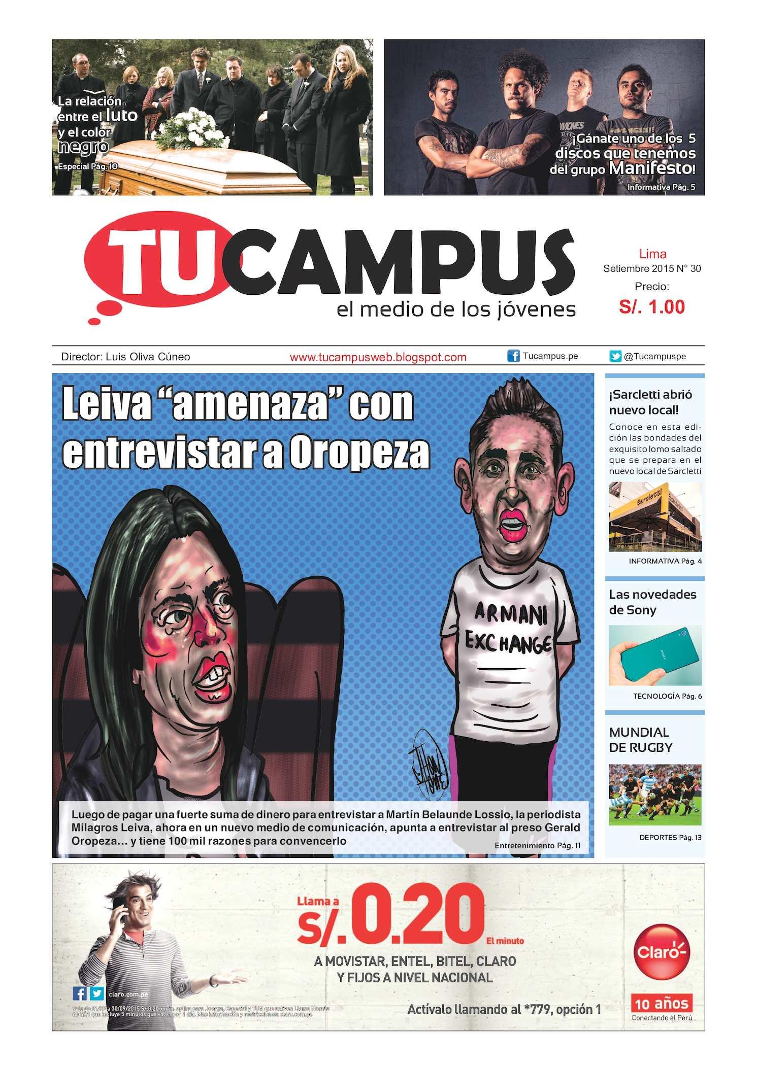 Septiembre 2015 2015 Septiembre Tucampus Calaméo Septiembre Calaméo Calaméo Tucampus Tucampus dBCoex