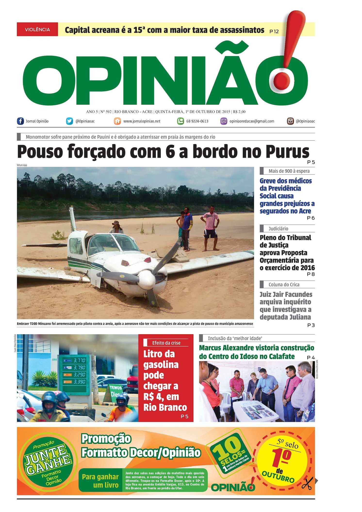 e3147849e15 Calaméo - Jornal Opinião - Edição 592