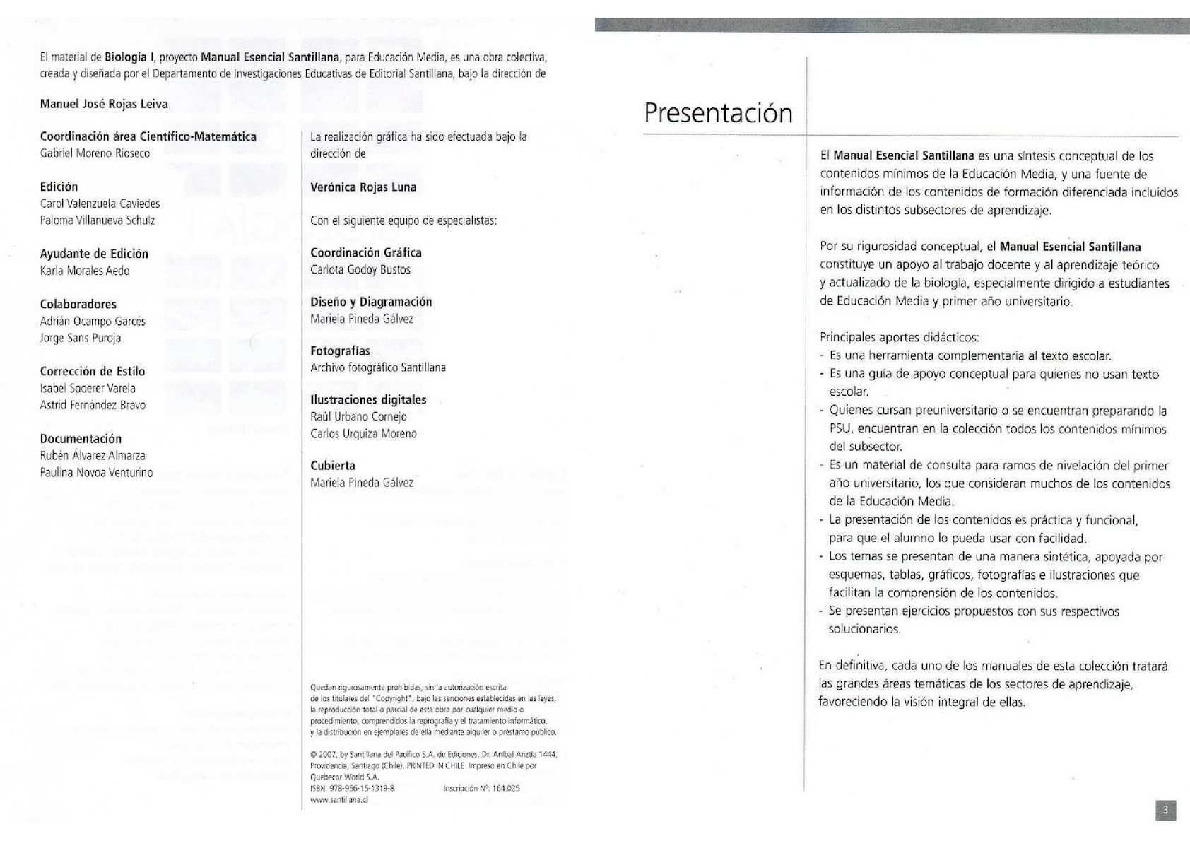 Biología I; Editorial Santillana   CALAMEO Downloader