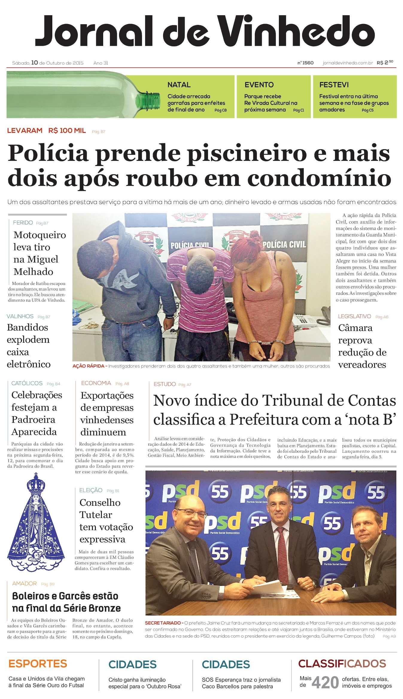 Calaméo - Jornal De Vinhedo Sábado 10 De Outubro De 2015 Edic 1560 Ok 014a338d75a61