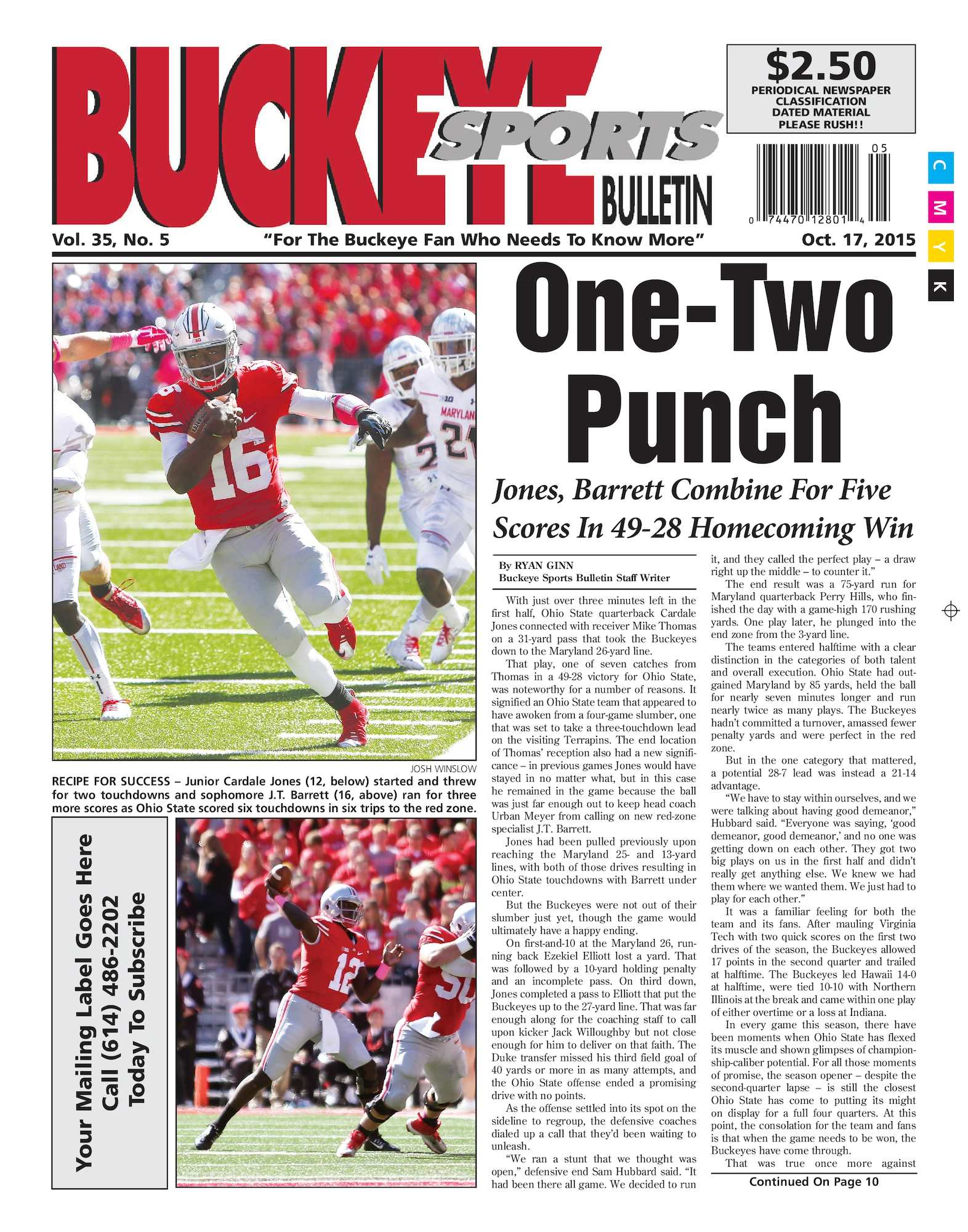 858c3be37d7d Calaméo - Buckeye Sports Bulletin October 17