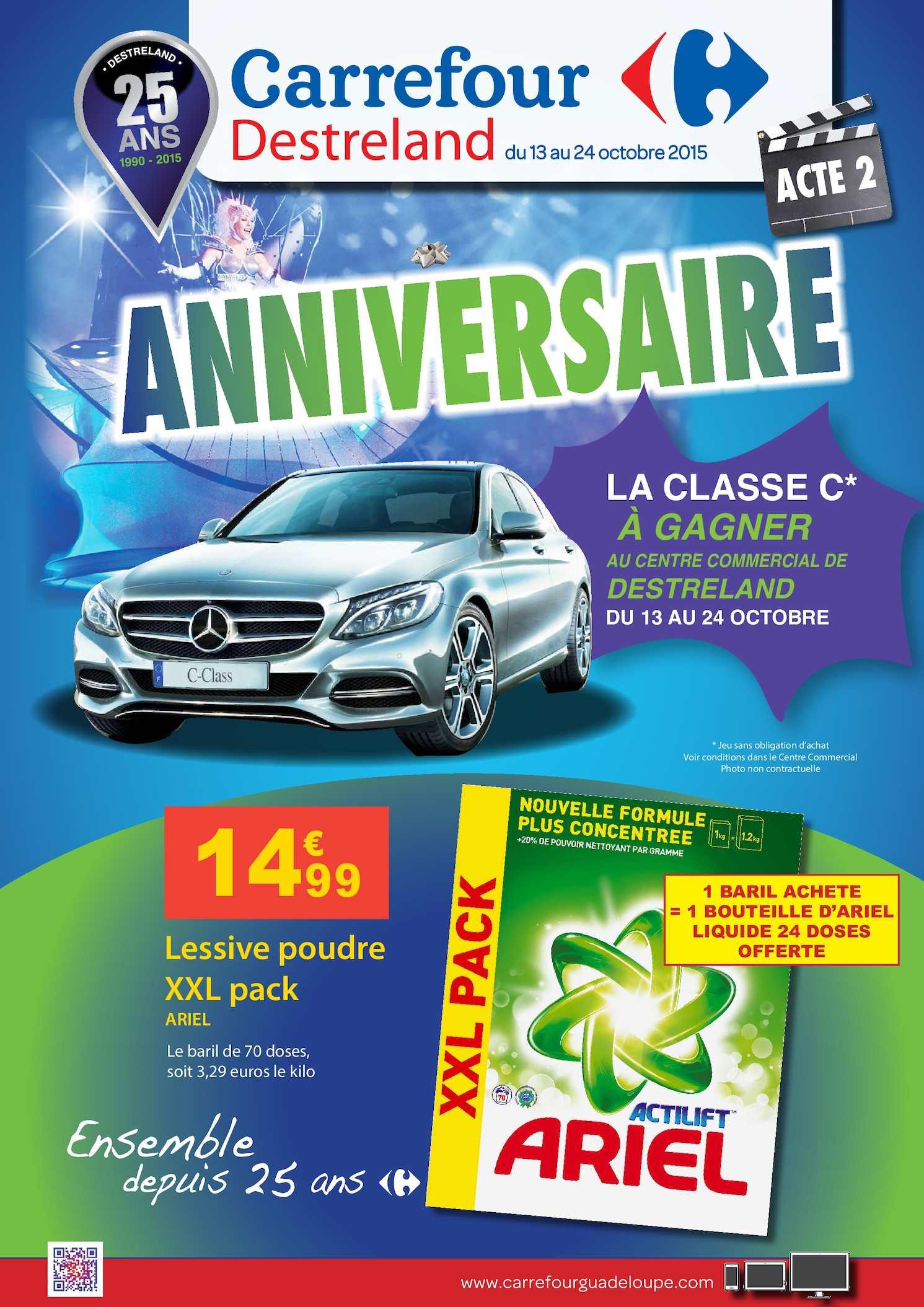 Calaméo Catalogue Carrefour Anniversaire 25 Ans Acte 2