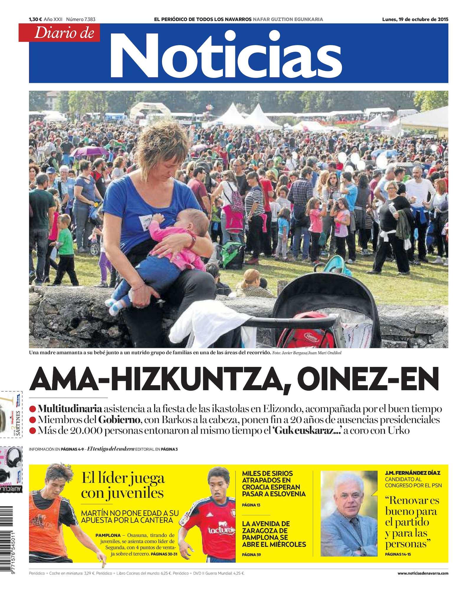 Calaméo Diario Diario De 20151019 Noticias 20151019 Calaméo Noticias De BdCerxo