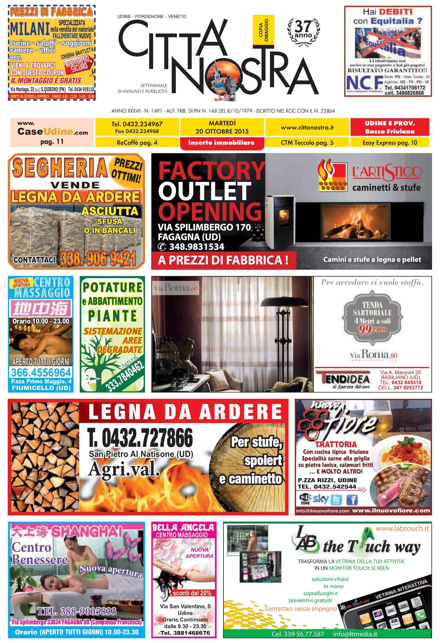 Calaméo - Città Nostra Udine del 20.10.2015 n. 1491 dde37ed6e74