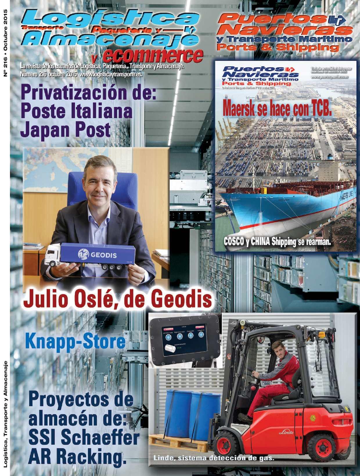 Calaméo - Revista Logistica Transporte y Almacenaje 216 Octubre 2015 Web 9a2fb0e1b46