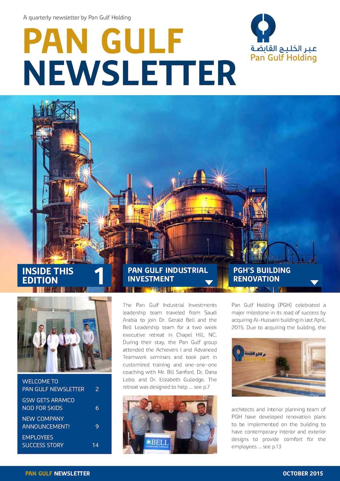 Calaméo - Pangulf Newsletter Oct 2015
